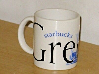 2004 Starbucks GREECE 3 oz City Mug Collector Series Mini Small FREE Shipping
