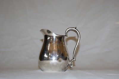 "-Vintage Reed & Barton 968 Silverplate Hollowware 6"" Pitcher"