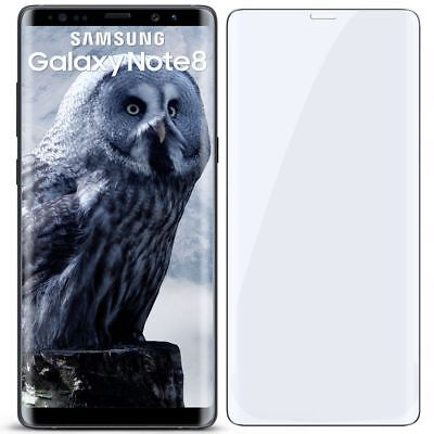 3D Panzer Glasfolie für Samsung Galaxy Note8 aus 9H Hart Glas Curved Full Screen
