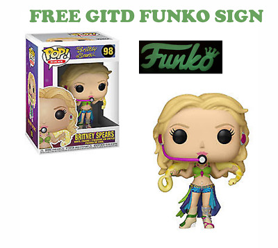 Funko Pop! Rocks Britney Spears PRE-ORDER + FREE GITD SIGN