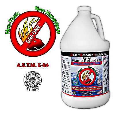 Fire Retardant Spray for Fabric and Wood - Class A for Wood and Fabric-1 Gallon
