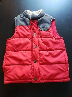 Carter's Boy Red Vest Size 7