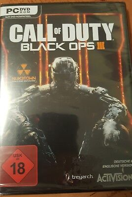 PC Call Of Duty Black Ops 3 III - Day One Edition  ** NEU + OVP **