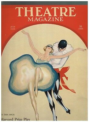 July 1923 Theatre Magazine with Martin cover