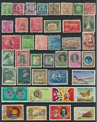 Havana Stamps - Singles - Used - Lot A-137