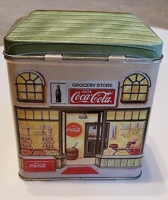 Coca Cola Collectors Bank Tin