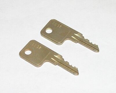 2 - Yale LL52 Cabinet Drawer Lock Original OEM Keys