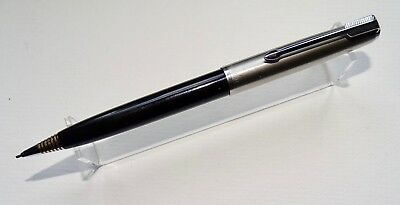 VINTAGE PARKER 51 INDIA BLACK-LUSTRALOY 0.9mm MECHANICAL PENCIL - ENGLAND - VGC