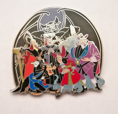 Disney Pin 2006 Villains Bad Guys Captain Hook Big Bad Wolf WDW