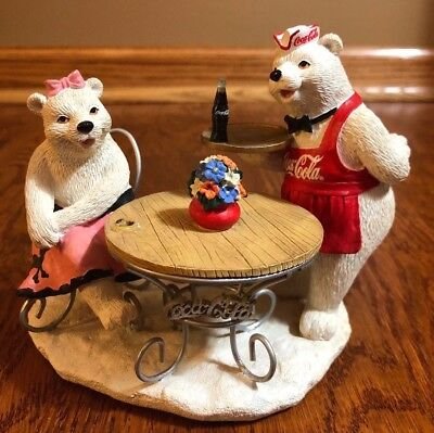 Coca Cola Polar Bear Figurines
