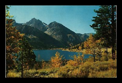 Dr Jim Stamps Us Twin Lakes California Mono National Forest View Postcard