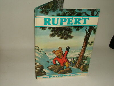 Rupert Bear Annual 1970 The Daily Express Not Price Clipped