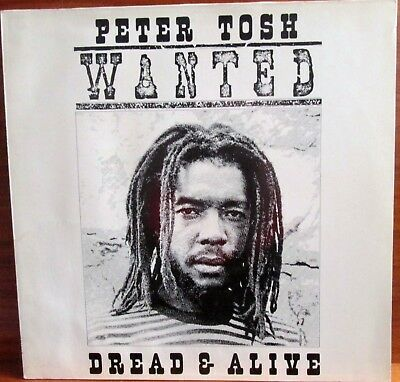 Lp - Peter Tosh = Wanted Dread And Alive  - 1981  (Reggae / Roots)