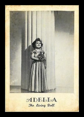Dr Jim Stamps Us Adella The Living Doll Topical Made In Usa Postcard
