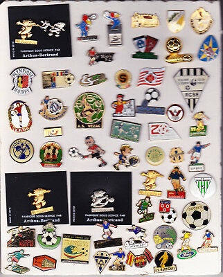 Gros Lot  3 SCANS pour 185 pin's FOOTBALL - FOOT - SOCCER - FUTBOL
