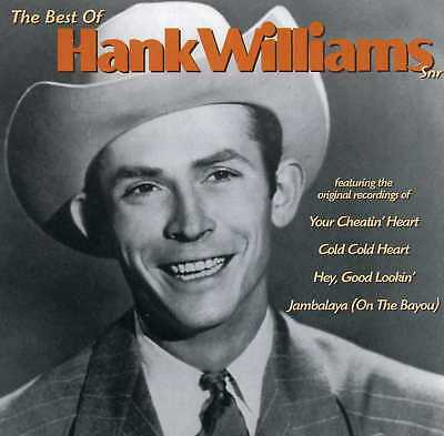 Hank Williams Snr - The Best Of - New Cd!!