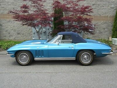 1965 Chevrolet Corvette Convertible Soft Top 1965 Chevrolet Corvette Convertible Soft Top A/T