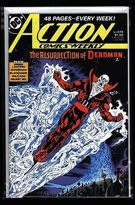 DC's Action Comics #619 Cool Deadman cover NM high grade!