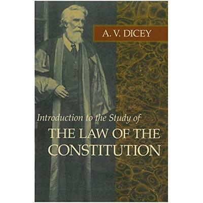 Introduction to the Study of the Law of the Constitutio - Paperback NEW Dicey, A