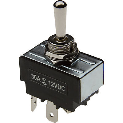 Toggle Reversing Switch -30 Amp Maintained Contacts, # SWT-TOG-4W