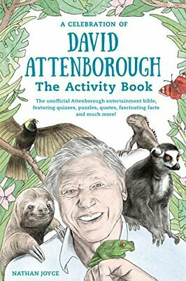 The Unofficial David Attenborough Activity Book by Nathan Joyce Book The Cheap