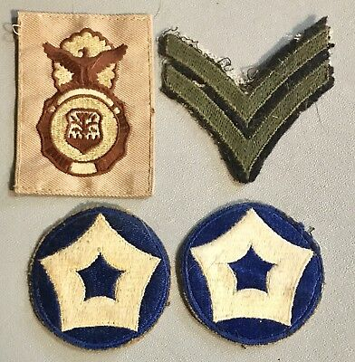 Vinatage WWII ? US Military Pach Lot Army Navy Air force Marine