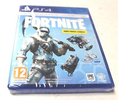 FORTNITE Deep Freeze Bundle Game For Playstation 4 PS4 Boxed Sealed - Y99