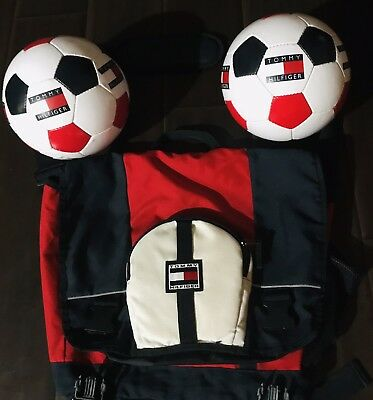 Vintage Tommy Hilfiger Soccer Ball New Sports Gear 90s (SOLD INDIVIDUALLY)