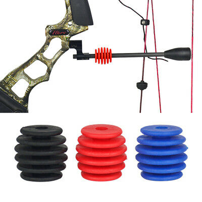 Universal Archery Compound Bow Stabilizer Vibration Damper for Hunting Shooting