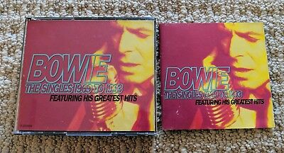 David Bowie The Singles Collection 1969 To 1993 2 Cd Set + Free Shipping