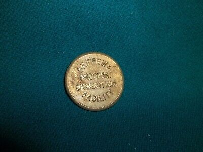 Chippewa County Mi ~ Prison Jail Penitentiary ~ Good For Token ~ 16T