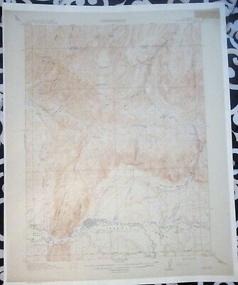 USGS Topo Map Meeker Quadrangle Colorado 15-minute Topographical - 1914