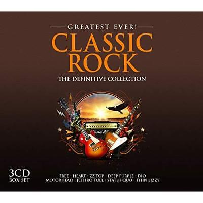 Greatest Ever Classic Rock Various Artists Audio CD