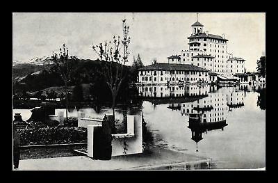 Dr Jim Stamps Us The Broadmoor Colorado Springs Colorado View Postcard