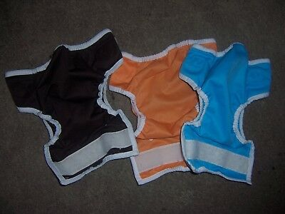 Thirsties cloth diaper covers lot size one Orange  lot