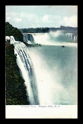 Dr Jim Stamps Us Prospect Point Niagara Falls New York View Postcard