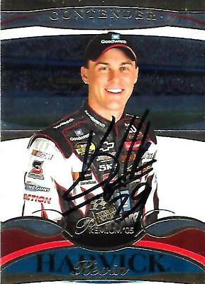 KEVIN HARVICK - Hand Signed Autographed  2005 Press Pass Premium  Card #9