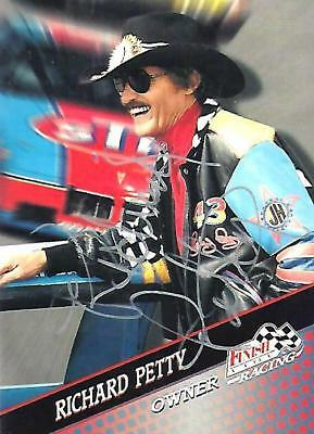 RICHARD PETTY - Hand Signed Autographed  1994 Finish Line Racing  Card #58