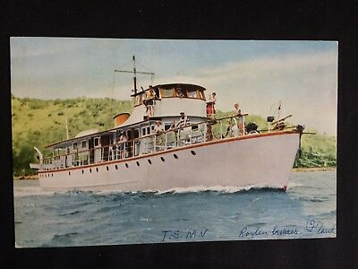 Vintage Collectable Postcard - McLeans Royal Cruises, Nth Queensland - T.S.M.V