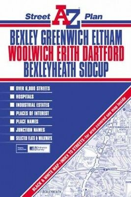 Bexley Street Plan (Street Maps & Atlases) Sheet map, folded Book The Cheap Fast