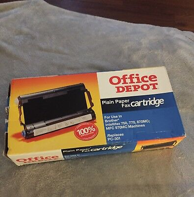Office Depot Plain Paper Fax Cartridge~Pc 301