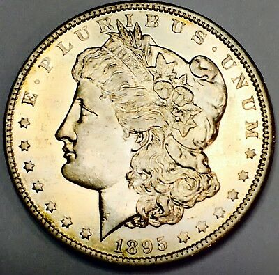 1895 O Morgan Uncirculated! Best In Its Class!impossible Find! Super Rare!#1663