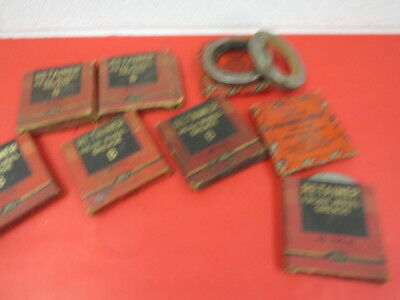 NOS 1932-38 Ford wheel grease seals No Reserve 1933 1934 1935 1936 1937 1938