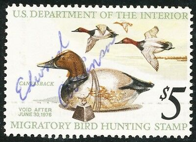 Dr Jim Stamps Us Department Of Interior Duck Scott Rw42 $5 Used No Reserve