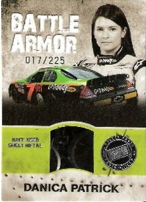 2010 10 Press Pass Danica Patrick Battle Armor #/225 Chevrolet