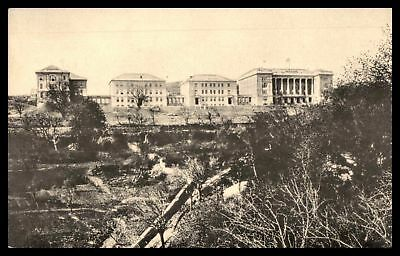 Turkey Constantinople Woman's College Bosporus 1925 Postcard to Wisconsin