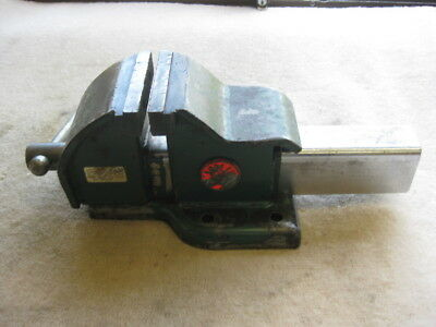 "JOLPIN 4"" (100 mm) ALL STEEL MECHANIC'S BENCH VICE Made In Australia."