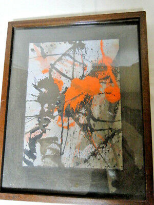Lee McCarthy Abstract signed