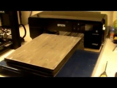 DTG Direct To Garment T-Shirt Printer BUILD Video, Instructional DVD & PDF