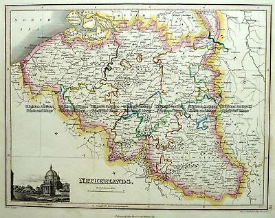Antique Map 5-170  Holland or The Netherlands  by Thomson  c.1820